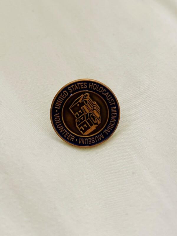United States Holocaust Memorial Museum Pin