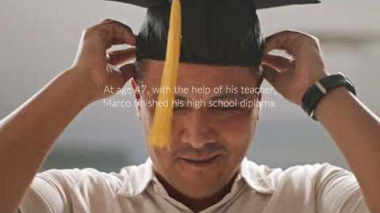 Marco | Finish Your Diploma | Ad Council